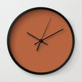 Shipwreck ~ Rust Wall Clock