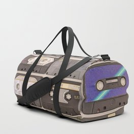 Cassette Tape Wall Retro Decor Tapes Duffle Bag