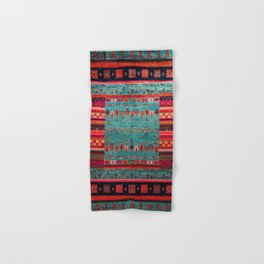 Anthropologie Ortiental Traditional Moroccan Style Artwork Hand & Bath Towel