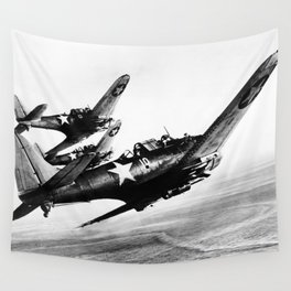 Vintage fighters Wall Tapestry