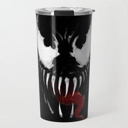 Venom, Spider man Enemie Travel Mug