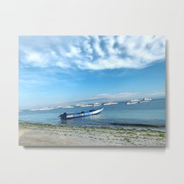 Alona Beach Bohol Philippines Metal Print