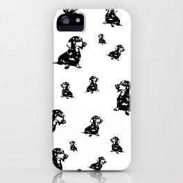 Dachshund Dog, Wiener Dog, Sausage Dog, Doxie, Daxie, iPhone Case