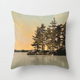 Frontenac Provincial Park Poster Throw Pillow