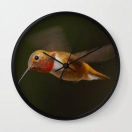 Rufous Wall Clock