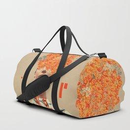 Bird Flight in Autumn Duffle Bag