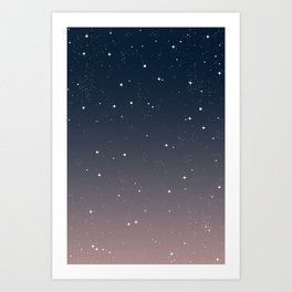 Keep On Shining - Peaceful Dusk Art Print