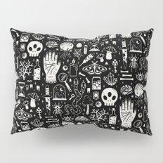 Curiosities: Bone Black Pillow Sham