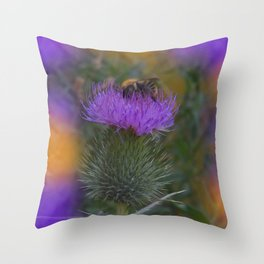little pleasures of nature -160- Throw Pillow