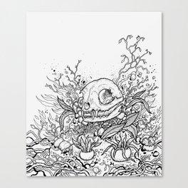 Dead Garden Canvas Print