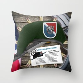 (Inactive Group) 11th SFG(A) Throw Pillow