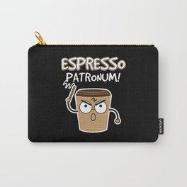 Espresso Patronum | Coffee Caffeine Carry-All Pouch