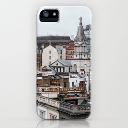 London Urban Landscape with Beautiful Architecture iPhone Case
