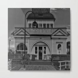 St Kilda Pier Pavilion Metal Print