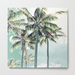 Under the palms Metal Print