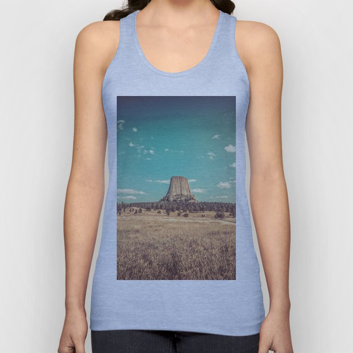 Devil's Tower National Monument Wyoming Unisex Tank Top