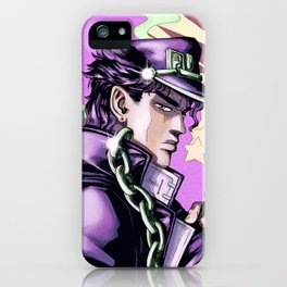 Kujo Jotaro - Jojo bizzare adventure iPhone Case