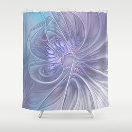 elegant flames on texture Shower Curtain
