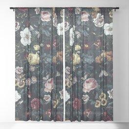 Botanical Garden V Sheer Curtain