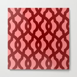 Grille No. 2 -- Red Metal Print