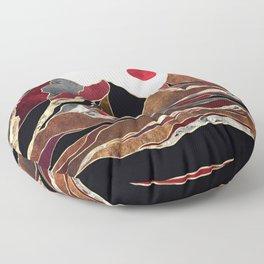 Copper Vista Floor Pillow