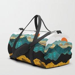 Turquoise Vista Duffle Bag