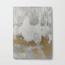 Golden shadows Metal Print