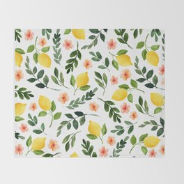 Lemon Grove Throw Blanket