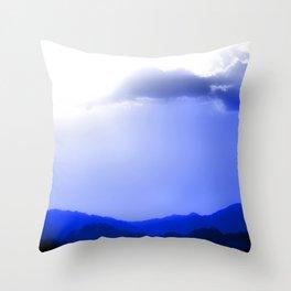 Sharm Mountains Throw Pillow