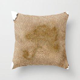 My Dear Watson Throw Pillow
