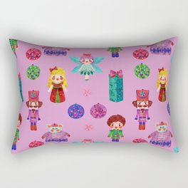 Pink Christmas - The Nutcracker Edit View Rectangular Pillow