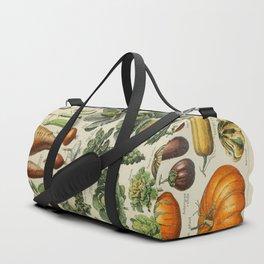 VEGETABLES Legumes Et Plantes Potageres Vintage Scientific Illustration French Language Encyclopedia Duffle Bag