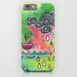 Happiness Boat iPhone Case