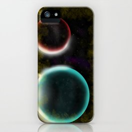 Karezi Planets iPhone Case