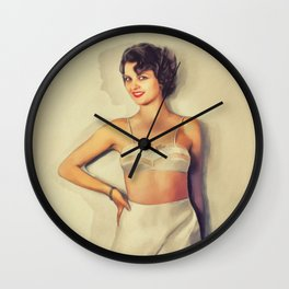 Lillian Bond, Vintage Actress Wall Clock