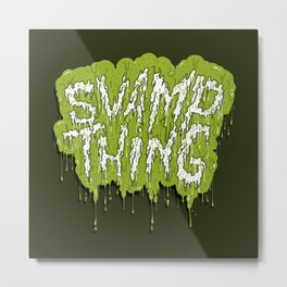 Swamp Thing Metal Print