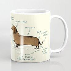Anatomy of a Dachshund Coffee Mug