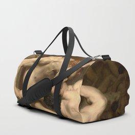 DANTE AND VIRGIL - WILLIAM-ADOLPHE BOUGUEREAU Duffle Bag