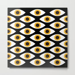 EYES_POP_ART_01 Metal Print