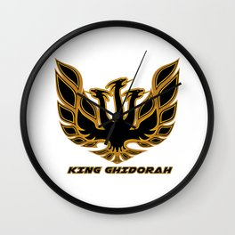 King Ghidorah Retro Style Wall Clock