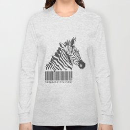 Zebra Code Long Sleeve T-shirt