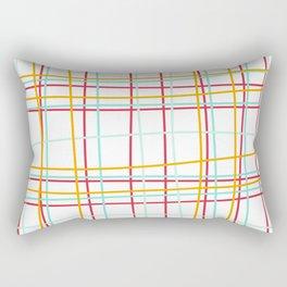 Plaid No.1 Rectangular Pillow
