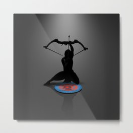 Arjuna - Essence of a Hero Metal Print