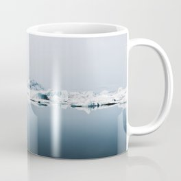 Ethereal Glacier Lagoon in Iceland - Landscape Photography Coffee Mug
