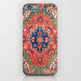Alpan Kuba East Caucasus Rug Print iPhone Case