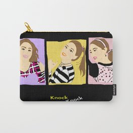 Knock Knock! Chaeyoung Version Carry-All Pouch