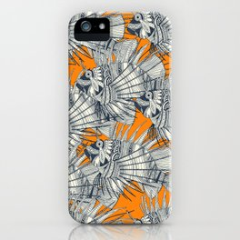 fish mirage turmeric iPhone Case