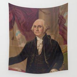 Vintage Portrait of George Washington (1876) Wall Tapestry