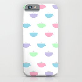 Coffee Time Pastel Version iPhone Case