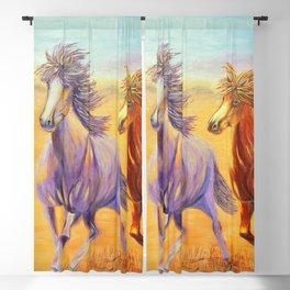 Free Spirits | Esprits Libres Blackout Curtain